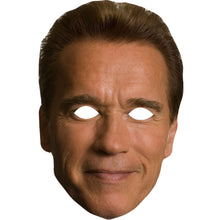 Load image into Gallery viewer, Arnold Schwarzenegger Mask Celebrity Terminator Fancy Dress Party