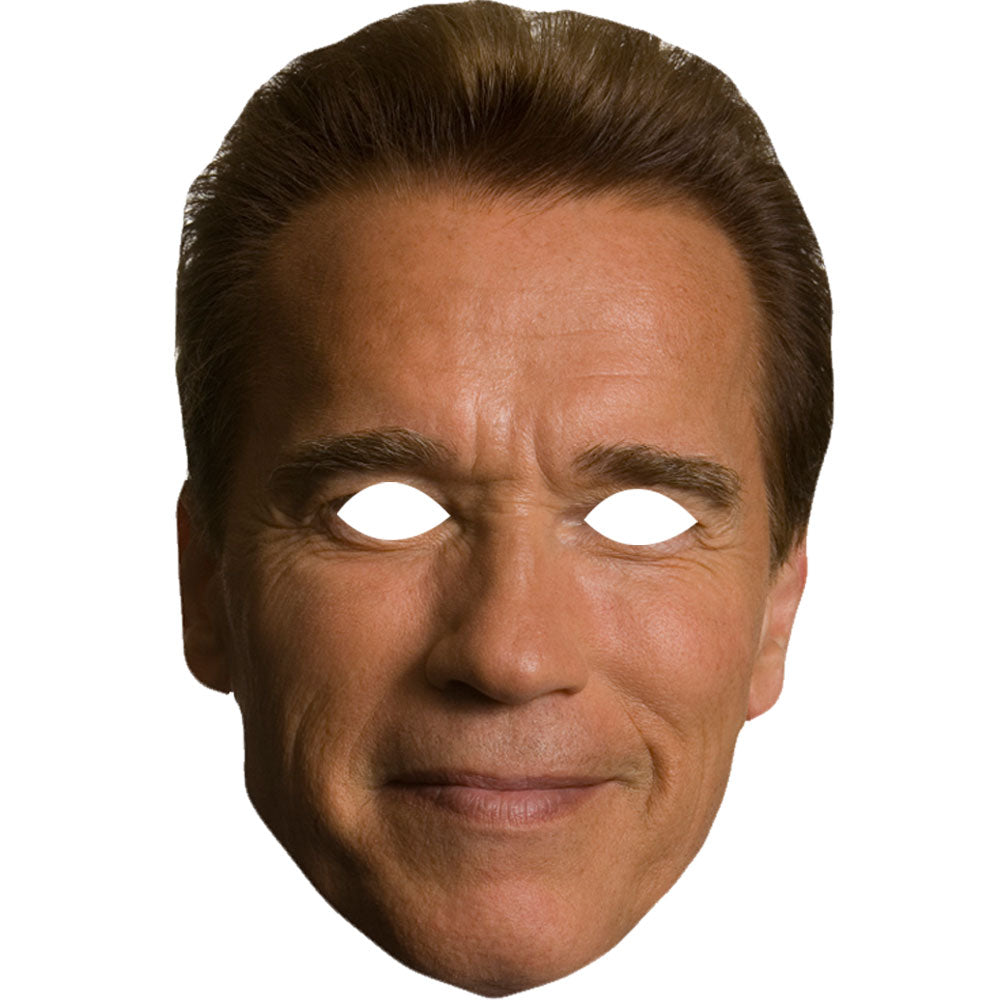 Arnold Schwarzenegger Mask Celebrity Terminator Fancy Dress Party