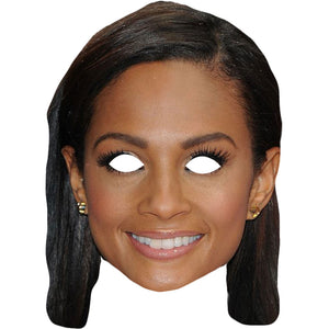 Alesha Dixon Strictly Come Dancing Face Mask Fancy Dress Party