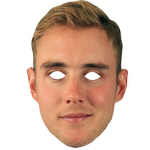 Load image into Gallery viewer, Stuart Broad Cricket Celebrity Face Mask Fancy Dress Party