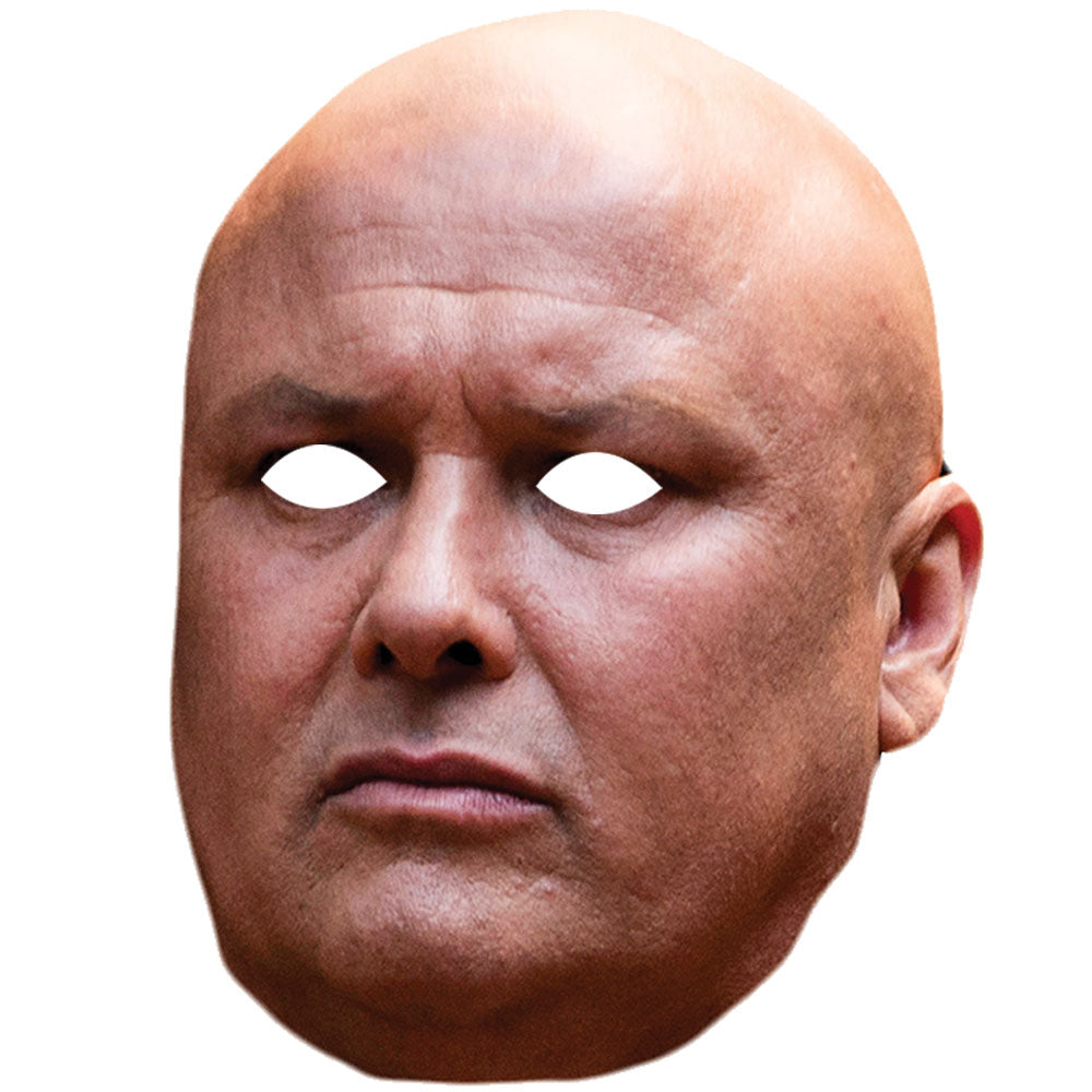 Conleth Hill Lord Varys Game Of Thrones Celebrity Face Mask - PhotoFaceMasks - Novelty Costume Celebrity Face Masks For Sale UK