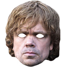 Load image into Gallery viewer, Peter Dinklage Game Of Thrones Tyrion Lannister Celebrity Face Mask - PhotoFaceMasks - Novelty Costume Celebrity Face Masks For Sale UK