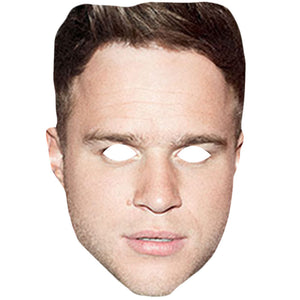 Olly Murs Celebrity X Factor Singer Card Face Mask Fancy Dress Party
