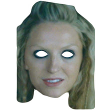 Load image into Gallery viewer, Helga Vikings Maude Hirst Celebrity Card Face Mask Fancy Dress Party - PhotoFaceMasks - Novelty Costume Celebrity Face Masks For Sale UK