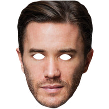 Load image into Gallery viewer, Tom Pelphrey Ward Meachum Iron Fist Celebrity Card Face Mask - PhotoFaceMasks - Novelty Costume Celebrity Face Masks For Sale UK
