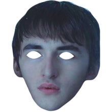Load image into Gallery viewer, Isaac Hempstead Wright Bran Stark Got Celebrity Face Mask - PhotoFaceMasks - Novelty Costume Celebrity Face Masks For Sale UK