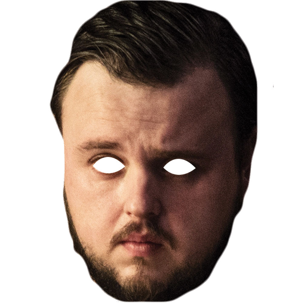 John Bradley West Samwell Tarly Game Of Thrones Celebrity Face Mask - PhotoFaceMasks - Novelty Costume Celebrity Face Masks For Sale UK