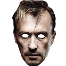 Load image into Gallery viewer, Theodore Bagwell T Bag Robert Knepper Celebrity Card Face Mask - PhotoFaceMasks - Novelty Costume Celebrity Face Masks For Sale UK
