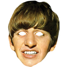 Load image into Gallery viewer, Ringo Starr Celebrity Card Face Mask Fancy Dress Party - PhotoFaceMasks - Novelty Costume Celebrity Face Masks For Sale UK