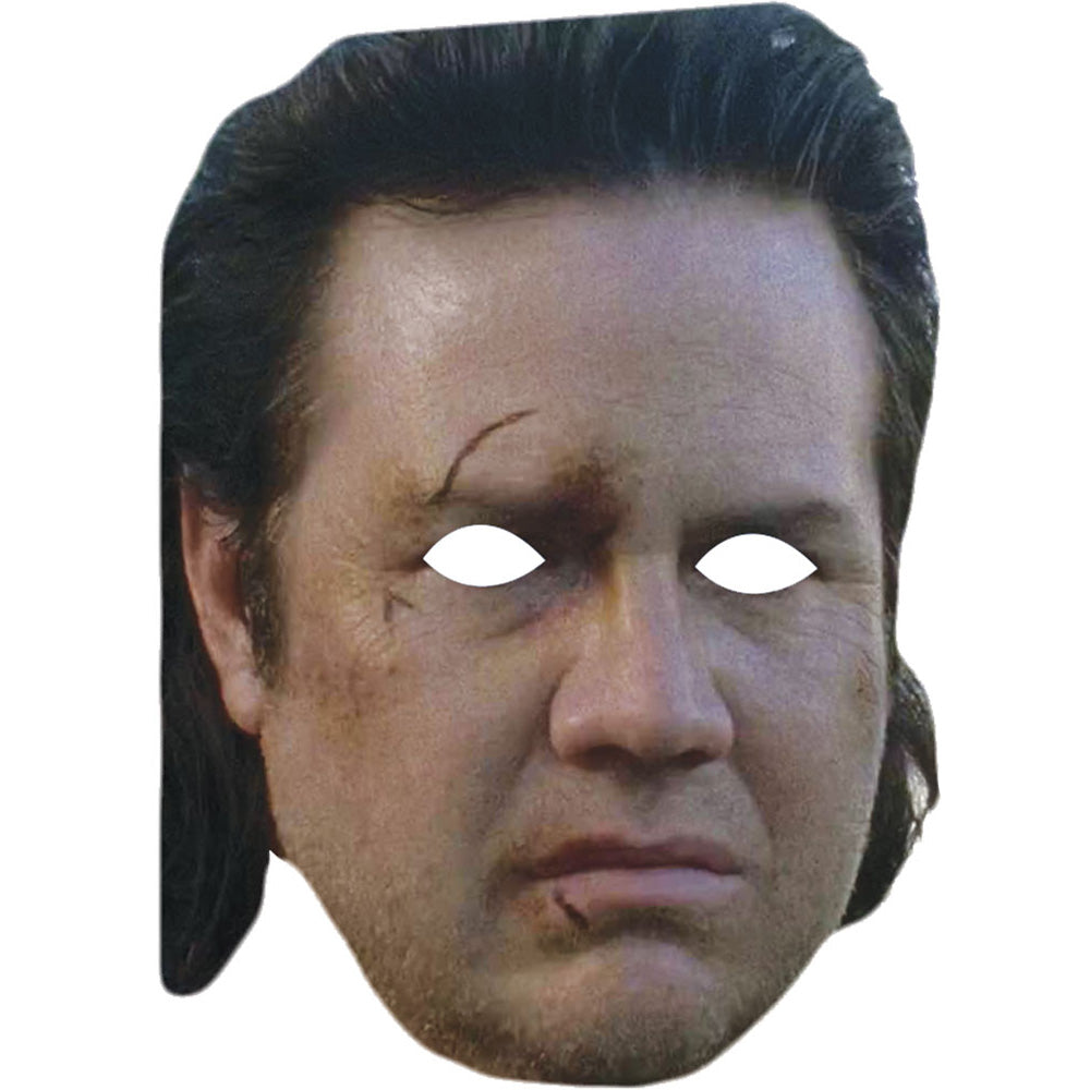 Dr Eugene Porter Josh Mcdermitt The Walking Dead Celebrity Face Mask - PhotoFaceMasks - Novelty Costume Celebrity Face Masks For Sale UK