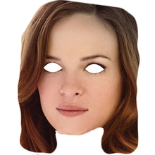 Load image into Gallery viewer, Caitlin Snow Danielle Panabaker The Flash Celebrity Card Face Mask - PhotoFaceMasks - Novelty Costume Celebrity Face Masks For Sale UK