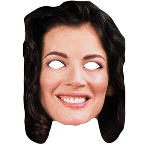 Nigella Lawson Celebrity Cook Card Face Mask Fancy Dress Party