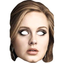 Load image into Gallery viewer, Adele The Great Solo Singer Card Face Mask Fancy Dress Party