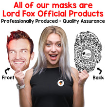 Load image into Gallery viewer, Celebrity Masks Famous Womens Pack For Costume Party Multi Packs Card Wholesale