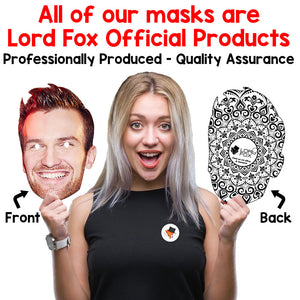 Celebrity Masks Arrows Pack For Adults Costume Party Multi Packs Card Wholesale