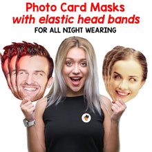 Load image into Gallery viewer, Queen Elizabeth Of England Royal Card Face Mask Fancy Dress Party