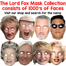 Load image into Gallery viewer, Celebrity Masks Arrows Pack For Adults Costume Party Multi Packs Card Wholesale
