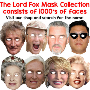 Celebrity Masks Table Tennis Playerss Pack For Costume Party Packs Wholesale
