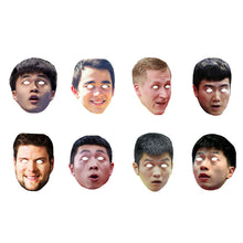 Load image into Gallery viewer, Celebrity Masks Table Tennis Playerss Pack For Costume Party Packs Wholesale