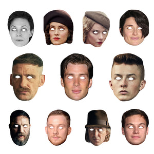 Celebrity Masks Peaky Blinderss Pack For Costume Party Multi Packs Wholesale