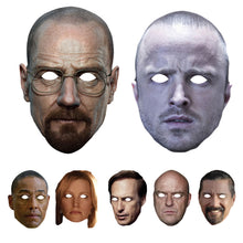 Load image into Gallery viewer, Celebrity Masks Breaking Bads Pack Adults Costume Party Multi Packs Wholesale