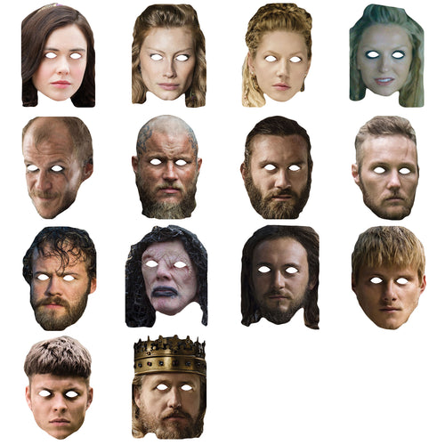 Celebrity Masks Vikingss Pack For Costume Party Adults Multi Packs Wholesale
