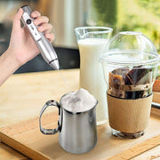 Rechargeable Electric Milk Frother - Go Trendyz