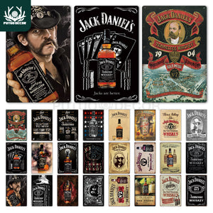 Whiskey Metal Signs - Go Trendyz