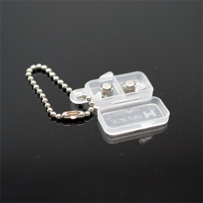 Keychain Battery Holder