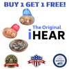 Image of SALE: Buy 1 Original iHear Hearing Aid and Get the Second Ear FREE! Get The Entire Pair for Only $449.96