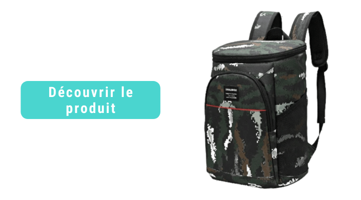 sac a dos isotherme camouflage 20 litres