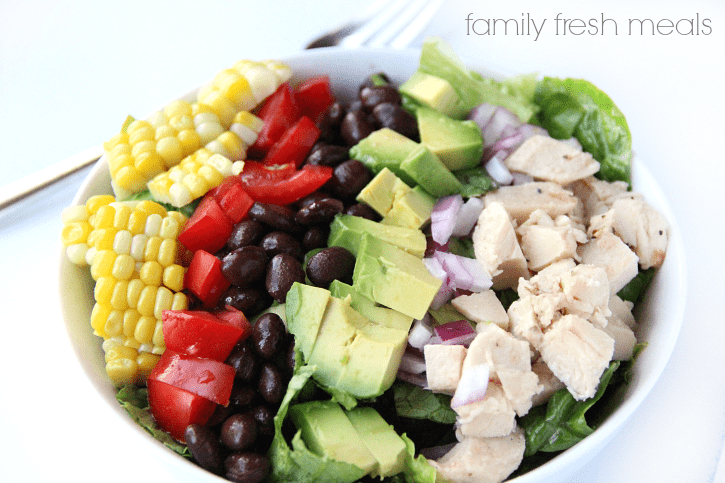 Salade fiesta healthy multicolore