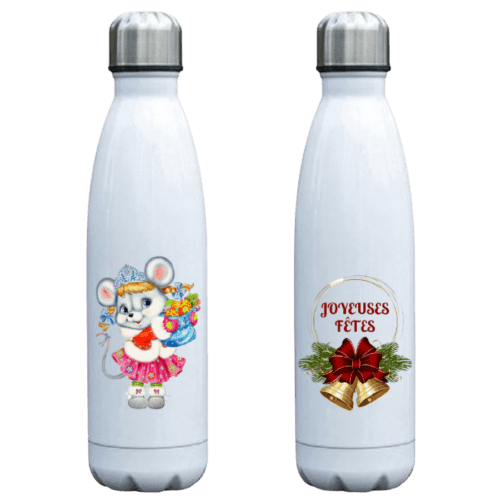bouteille isotherme motif noel