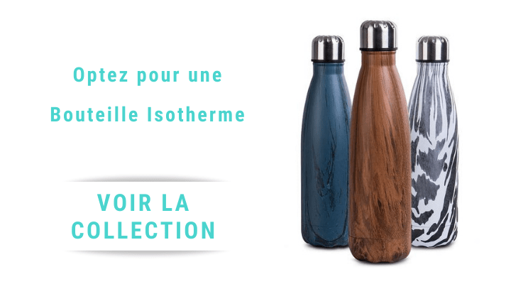 collection gourde isotherme en inox