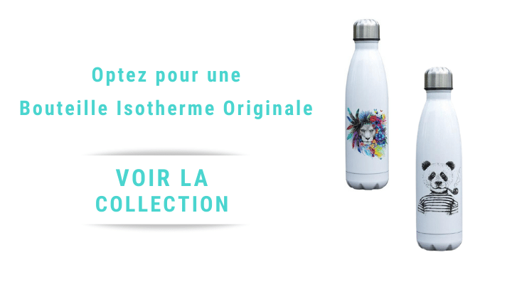 Collection bouteille isotherme animaux