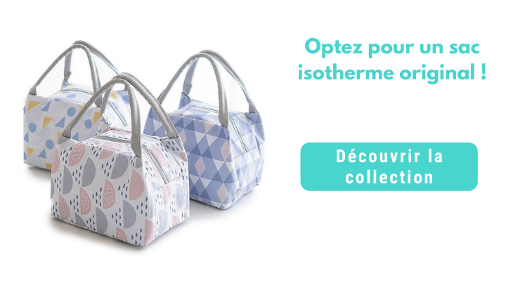 presentation collection sac isotherme repas