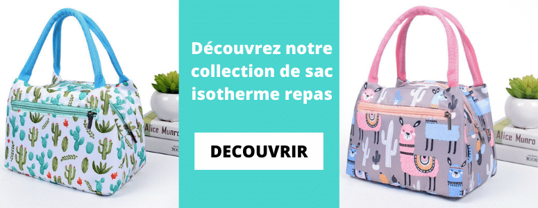Collection sac isotherme pour repas
