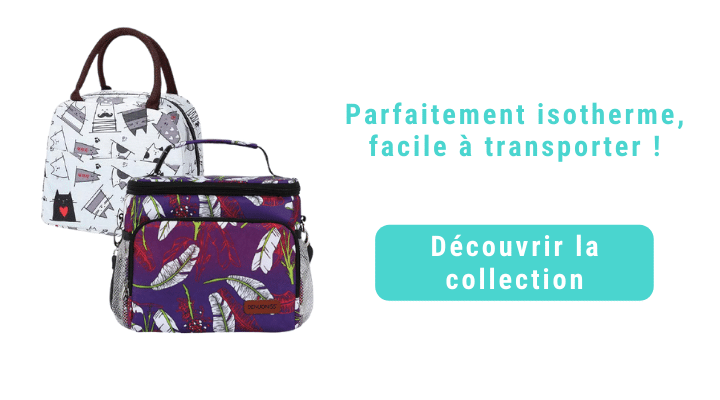 Collection sac repas isotherme