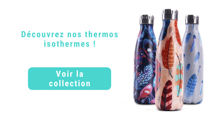 Bouteille isotherme acier inoxydable