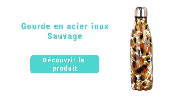 Bouteille isotherme sauvage