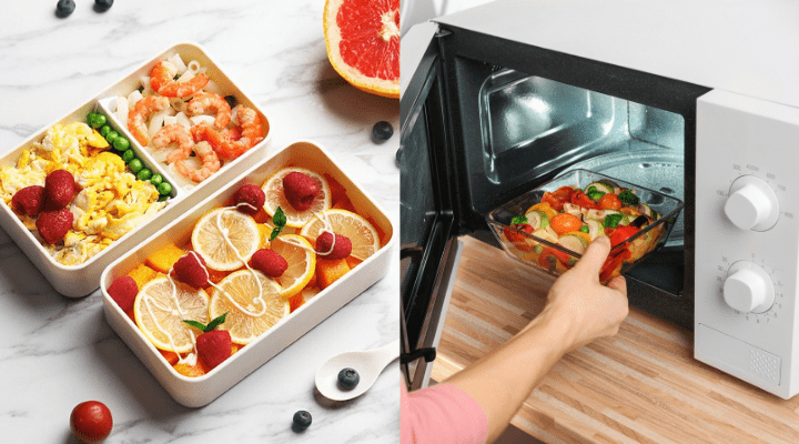lunch box repas ou four micro ondes ?