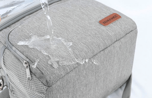 Lunch bag classique gris waterproof