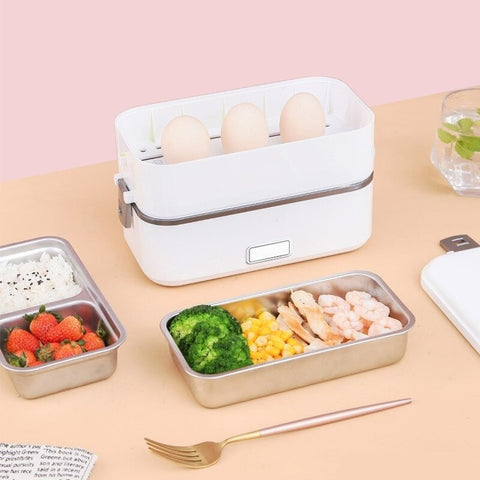 Lunch box electrique compartimentee