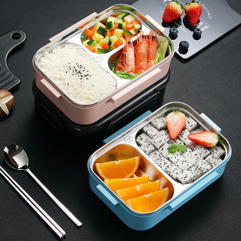 lunch box isotherme rose nourriture healthy