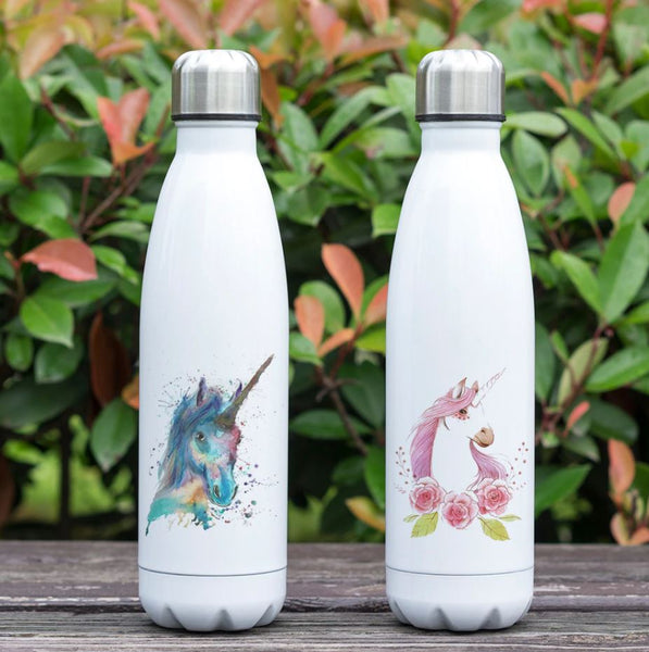 bouteille isotherme motif licorne
