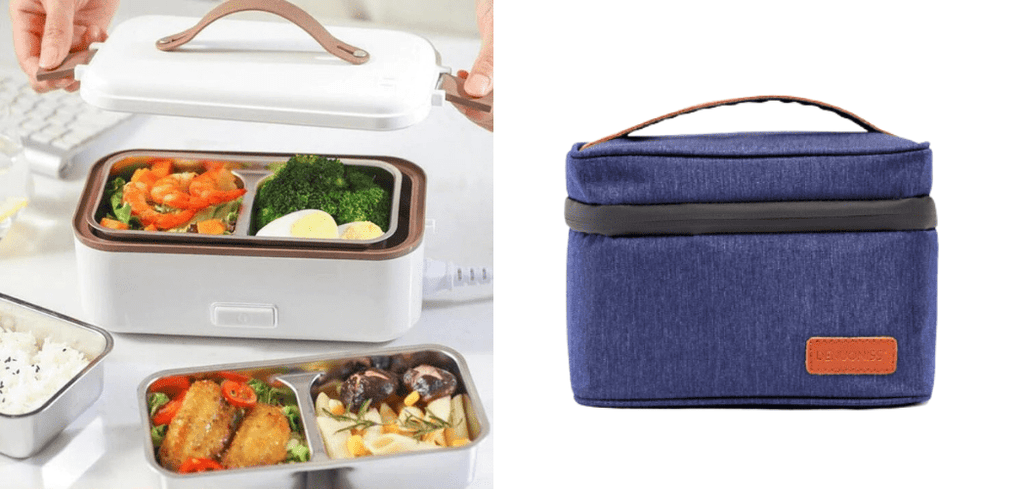 sac isotherme avec lunch box