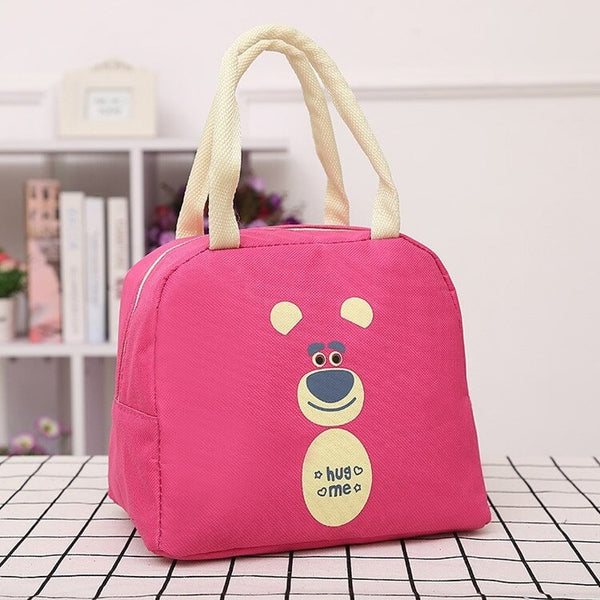 lunch bag rose motif ours