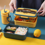 lunch box bentot trois campartiments
