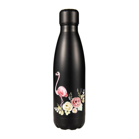 Gourde Inox Black Flamingo