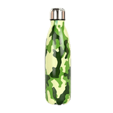 Bouteille isotherme 500 ml camouflage vert